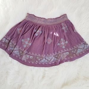 Free People for Urban Outfitters Purple Aztec Mini